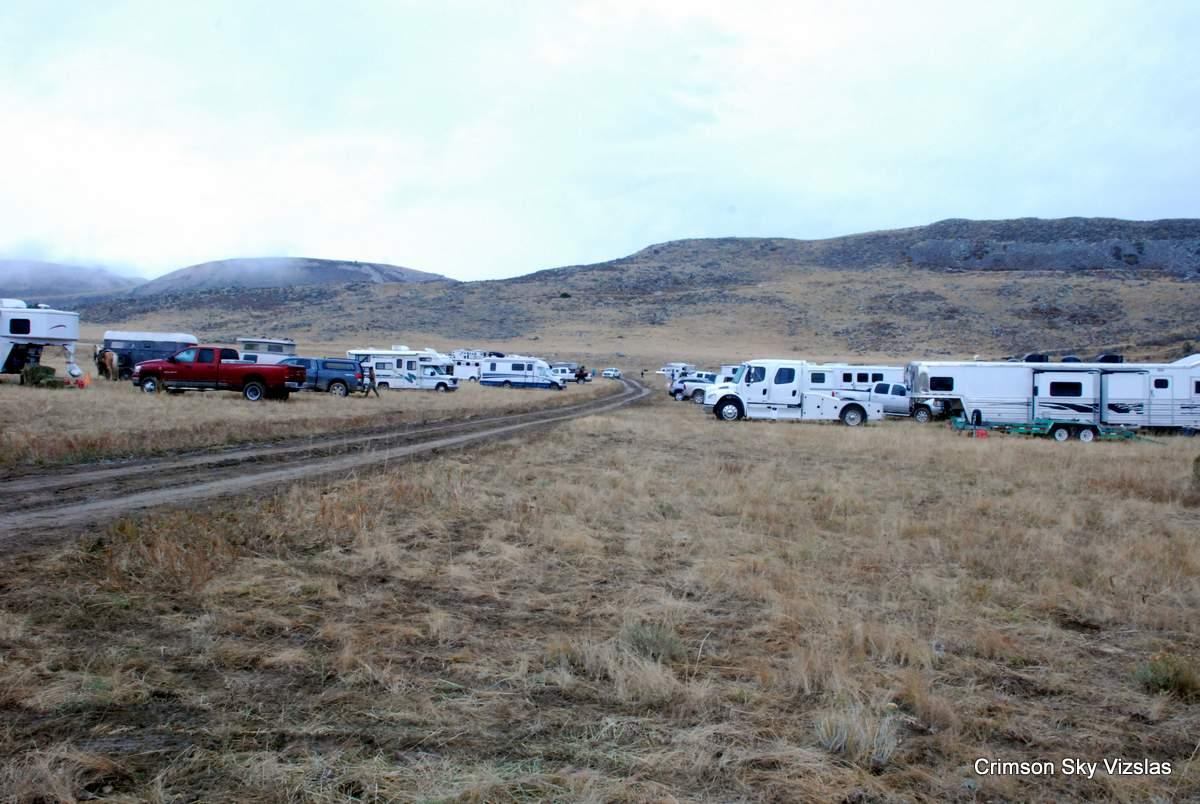 Horse Creek ranch Camping area Vizsla Club America NFC 2015