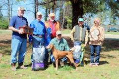 Vizsla Club of America National Gun Dog Champion 2011 Crimson's Twenty Gauge Ruger