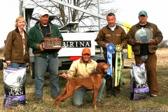 Ruger wins National Gundog Championship 2009!
