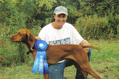 Ruger Eastern Iowa Vizsla Club Open Gun Dog 2010