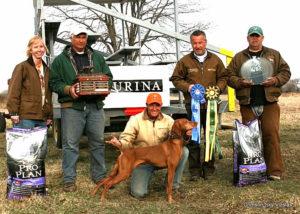 Ruger wins National Gundog Championship