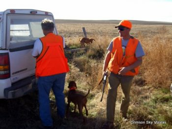 Mark and Rodney Albin Pierre S.D. Phesant hunting